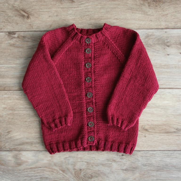 Svetry - Sophie Vávrovská - - Ručně pletený rozepínací svetr z ... af6a147c68